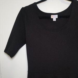 Lularoe Nicole Black Dress- Large
